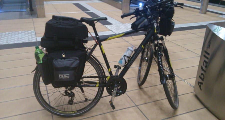 Mit dem Fahrrad auf die Reise (c) familienfreund.de