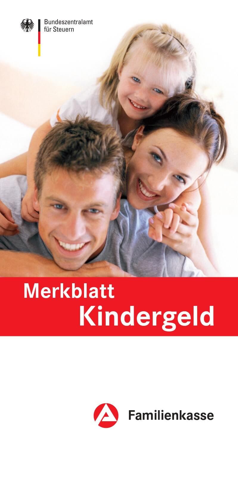 BMFSJ - Merkblatt Kindergeld