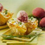 Osterrezept: mit Salat gefüllte Hafernester