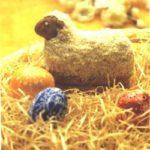 Osterrezept: Osterlamm aus einem Rührteig