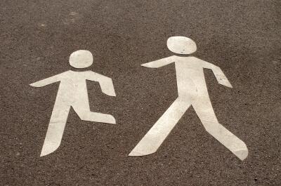 Verkehr |Fußgänger Symbol (c) S. Hofschlaeger / pixelio.de
