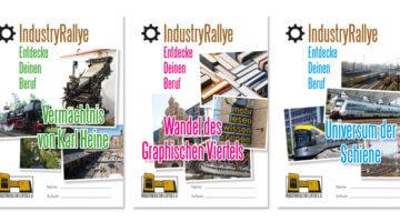 IndustryRallye Cover (c) Industriekultur Leipzig e. V.
